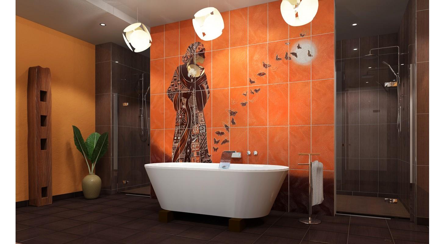 купить керамическую плитку и кафель для ванной комнаты фото
