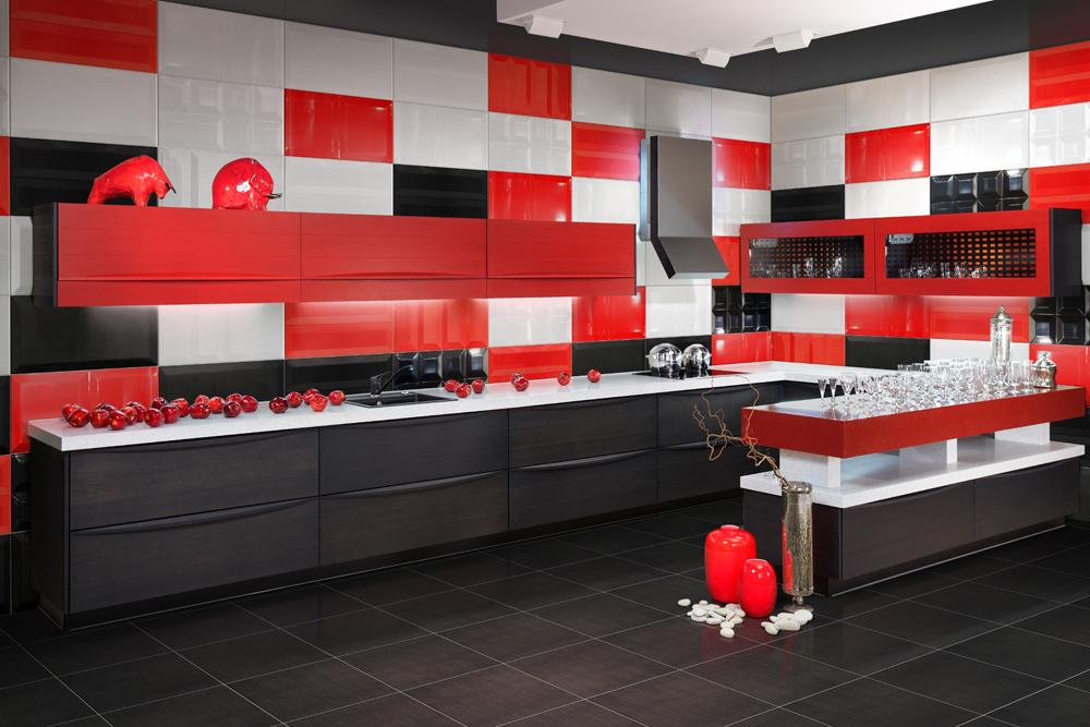 плитка для рабочей зоны кухни